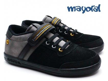 Chlapecké botasky MAYORAL 46.081 Black