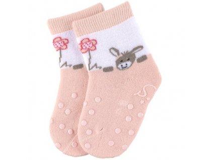 STERNTALER 8011888 Protiskluzové ponožky