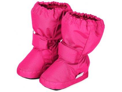 Voděodolné teplé boty STERNTALER 5101510 magenta