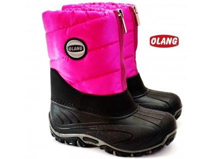 Zimní boty OLANG BMX 847 růžové