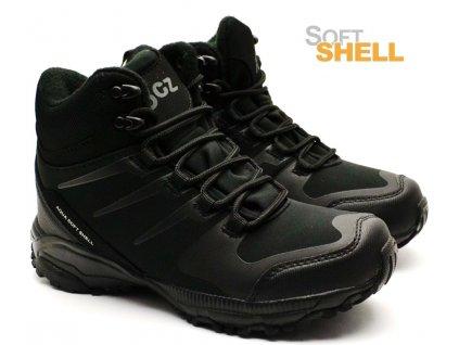Softshell obuv EFFE TRE SW2203-600 černé