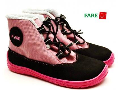 FARE BARE 5243251 dětské zimní barefoot