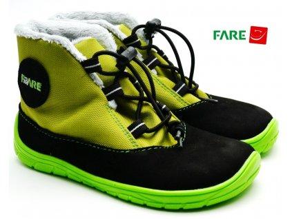 FARE BARE 5243231 dětské zimní barefoot