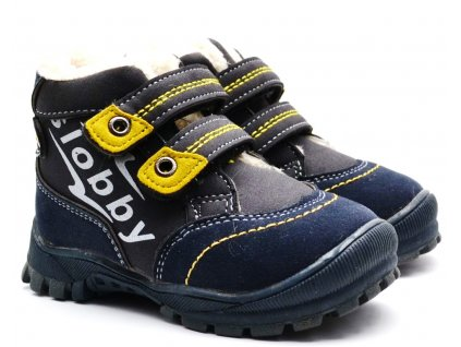 Zimní obuv Slobby 46-0024-T1 modrošedé