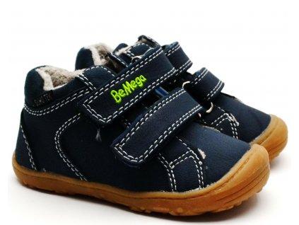 Zimní obuv Be Mega 7930004 navy