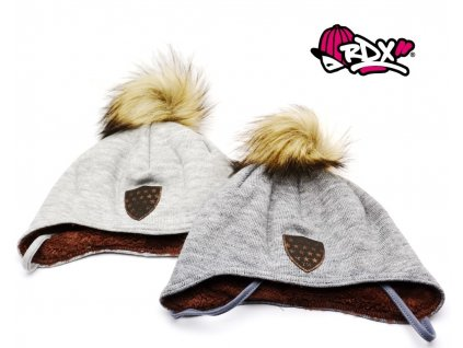 Zimní čepice na uši RDX 3722 šněrovací