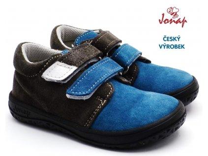 JONAP B1 SV Barefoot nízké šedomodré