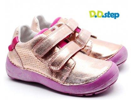 DDstep 023-810B Dětské boty metalické