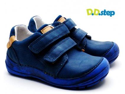 DDstep 023-810A Dětské boty modré
