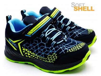 Softshell obuv Xtreme 684220 modré