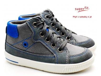 SUPERFIT 6-00359-25 grau/blau Dětské boty