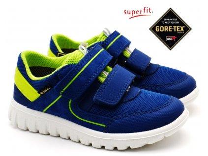 SUPERFIT 6-06197-81 blau grun Dětské boty