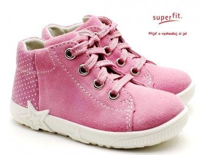 SUPERFIT 6-09440-55 rosa Dětské boty