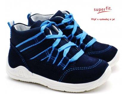 SUPERFIT 6-09411-80 blau Dětské boty