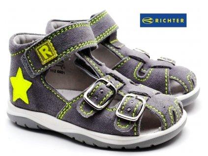 Sandále RICHTER  2608 7112 6601 šedé