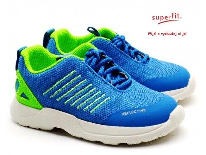 SUPERFIT 6-09208-81 blau/grün dětské boty