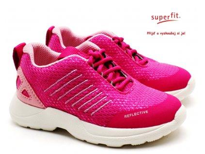 SUPERFIT 6-09208-55 rosa dětské boty