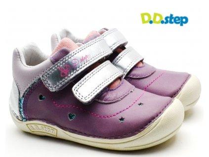 Dětské boty DDstep 018-43A levandulová