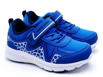 Junior League L01/159-137 modré botasky