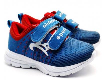 Slobby 47-0168 modročervené botasky
