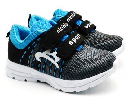 Slobby 47-0168 černomodré botasky