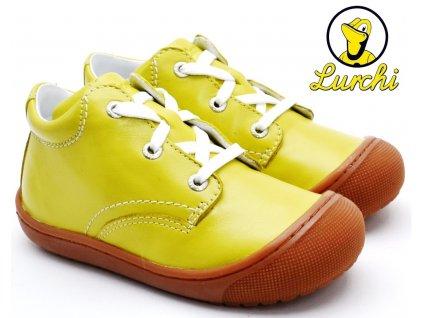 Dětské boty LURCHI 33-12041-04 zelenožluté