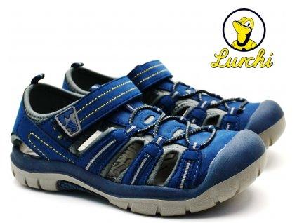 Sandále trekové LURCHI 33-21613-22 navy