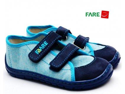 FARE BARE 5115401 Dětské tenisky barefoot