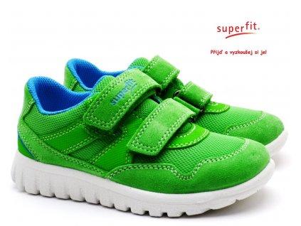 SUPERFIT 609191-70 Dětské boty grun/blau