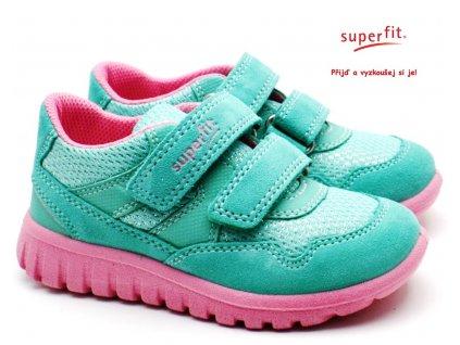 SUPERFIT 609191-71 Dětské boty grun/rosa