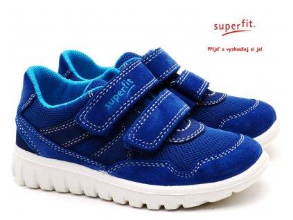 SUPERFIT 609191-81 Dětské boty blau