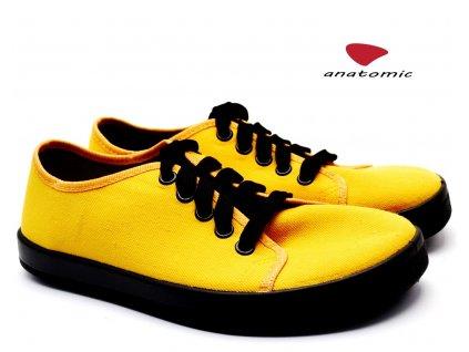 Barefoot tenisky ANATOMIC ALL IN A05 žluté