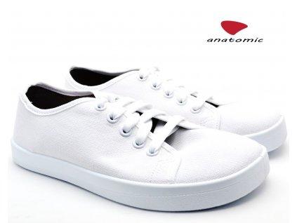 Barefoot tenisky ANATOMIC ALL IN A07 bílé