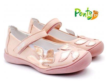 Dívčí balerínky PONTE PJ220-DA06 růžové