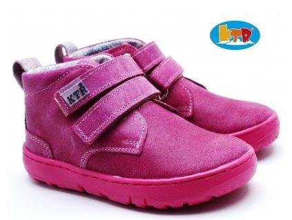 KONSORCIUM 164/EKO/KTR/BAE Dětské boty růžové