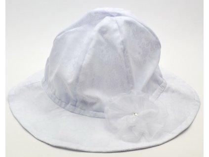 Dívčí klobouk YETTY B483 Bílý