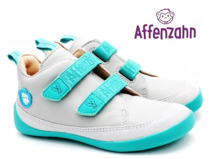 AFFENZAHN Dětské barefoot boty Leather Sneaker Bird