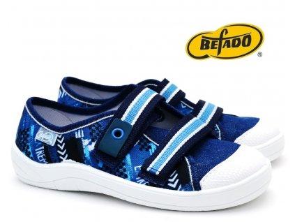 Dětské tenisky BEFADO TIM 672Y068 modré
