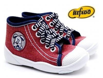 Dětské tenisky BEFADO MAXI 218P045 cihlové