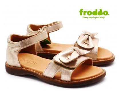 Dívčí sandále FRODDO G3150152-1 třpytivé