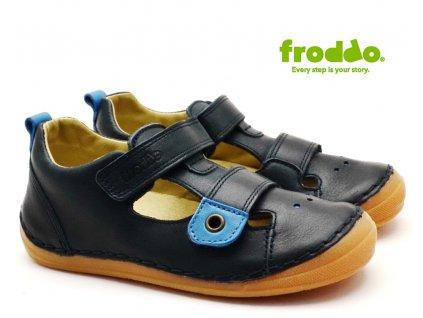 Dětské sandále FRODDO G2150111 tm. modré