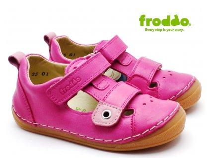 Dětské sandále FRODDO G2150111-7 růžové