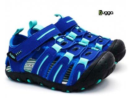 Dětské sandále BUGGA B00160-04 modré