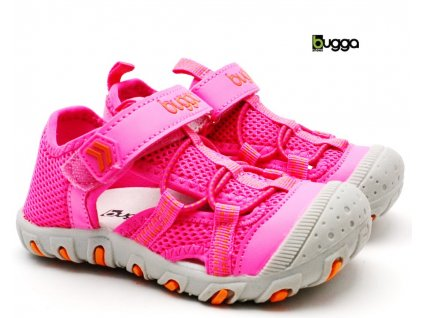 Dětské sandále BUGGA B00157-03 růžové