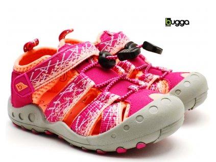 Dětské sandále BUGGA B00156-03 růžové