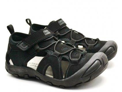 Sandále trekové Junior League L01/201-094 černá