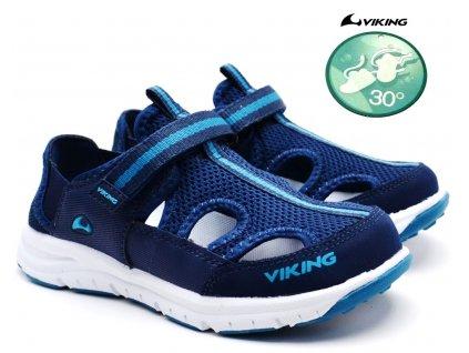 VIKING Nesoeya 3-47710 navy Dětské sandále