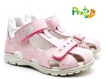 Dětské sandále PONTE S220-DA05 růžové