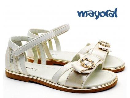 Dívčí sandále MAYORAL 45.171 043 Pearl