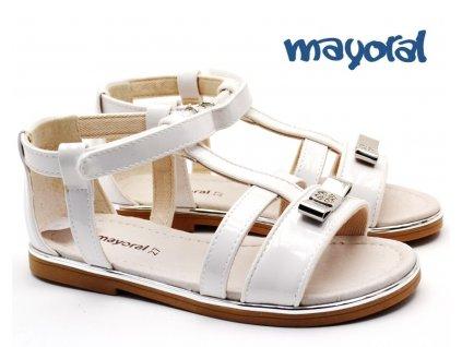 Dívčí sandále MAYORAL 45.157 096 White